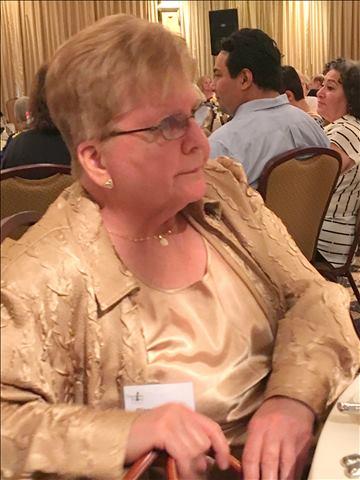 Diana Egozcue, Sponsor Virginia NOW President