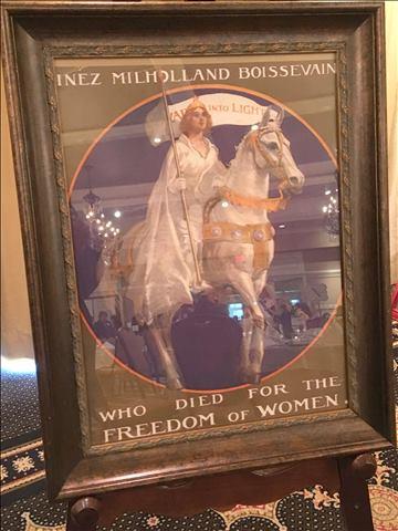 Inez Milholland memorial poster