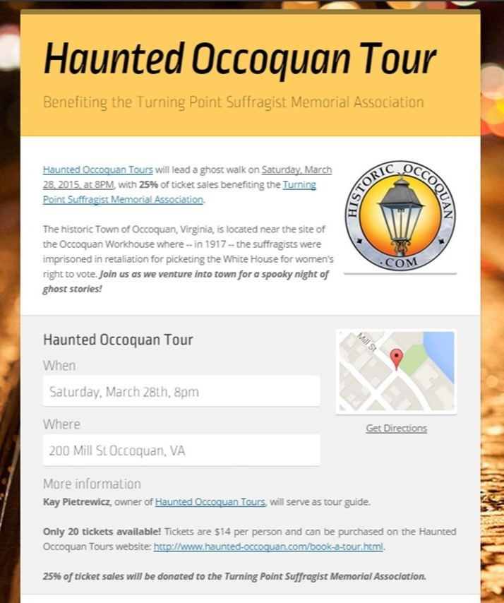 Haunted Occoquan
