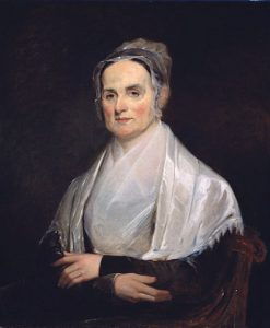 Portrait of Lucretia Mott painted by Joseph Kyle in 1841 courtesy of Smithsonian National Portrait Gallery.