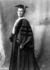 Mary Woolley, president of Mount Holyoke College and president of AAUW from 1927-1933
