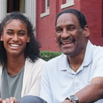Dr. Johnny Mickens III, great-grandson and his daughter, Liza Mickens